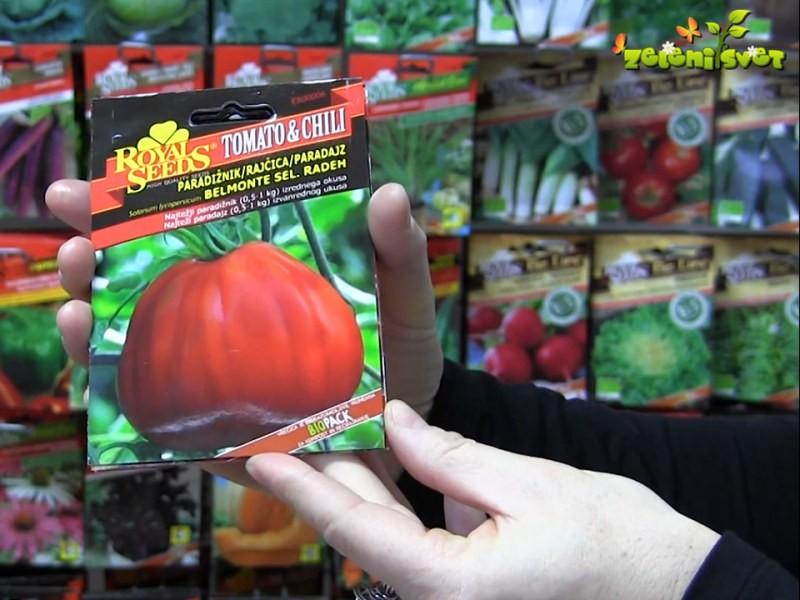 Novosti in posebnosti med paradižniki