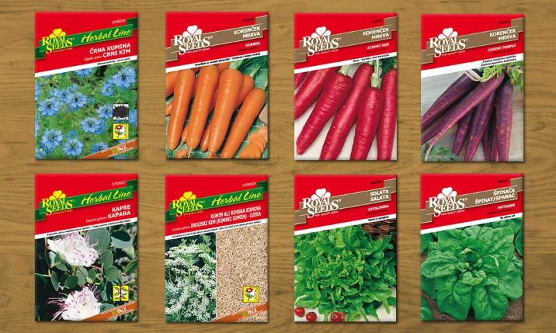 Novosti med korenčki in zelišči