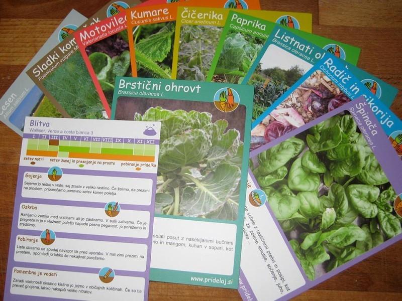 Vrtne karte za popoln kolobar