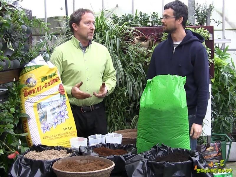 Kako pripravimo zemljo za rastline?