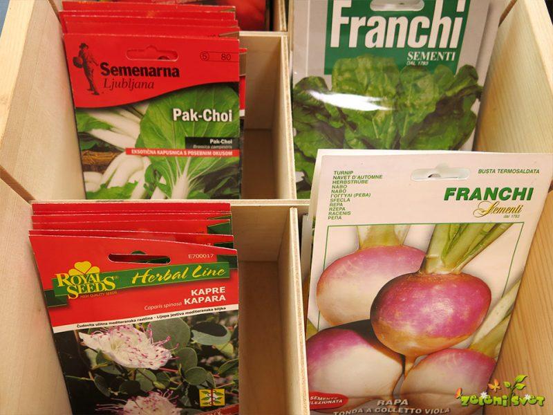 Kako dolgo je uporabno seme?