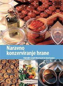 knjiga naravno konzerviranje hrane