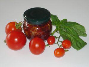 sušeni paradižniki v olju