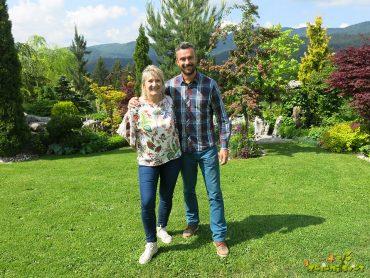 Predstavljamo vrt Lidije in Petra Knavs v Loškem Potoku