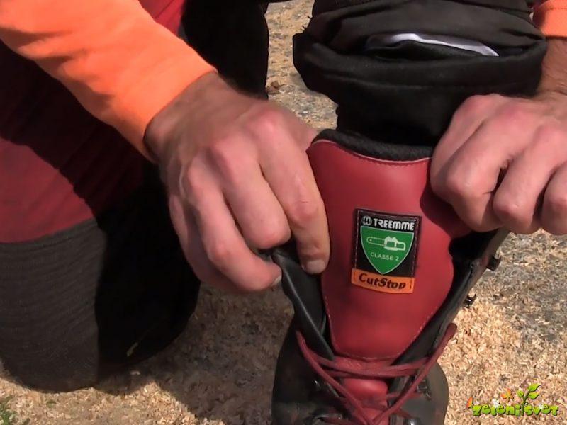 Osebna varovalna oprema pri žaganju z motorno žago