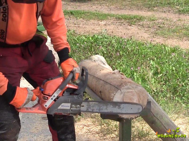 Osnovni načini rezi z motorno žago