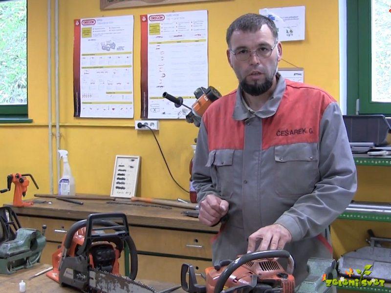 Vzdrževanje motorne žage