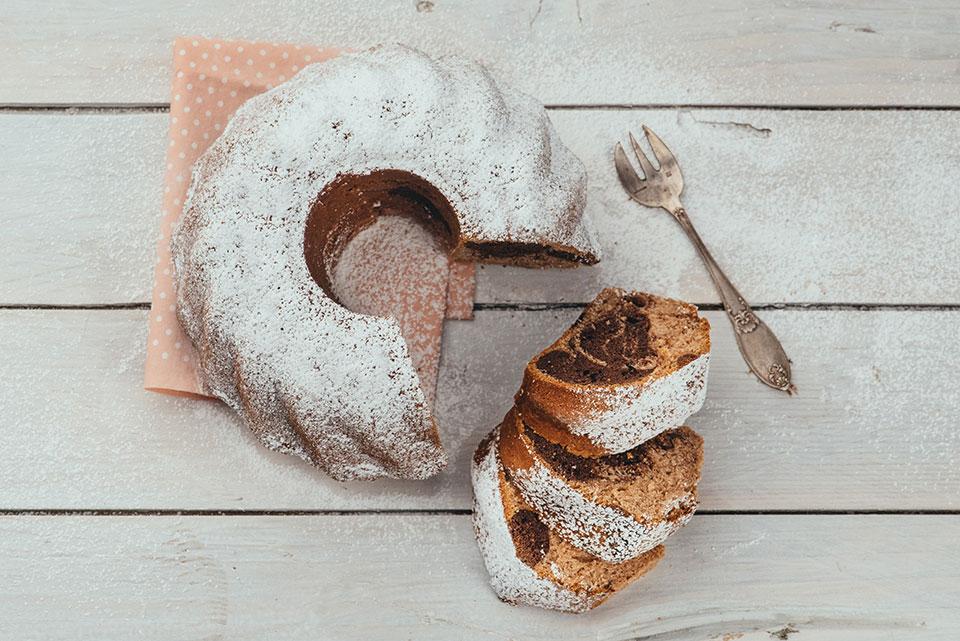 marmorni kolač pecivo