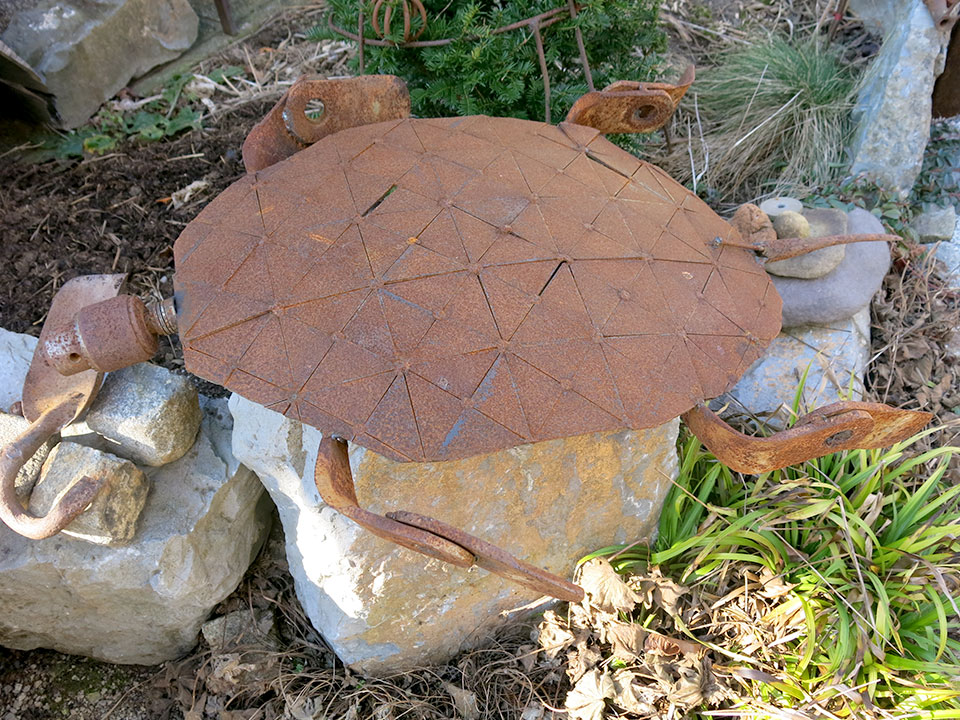 železna želva