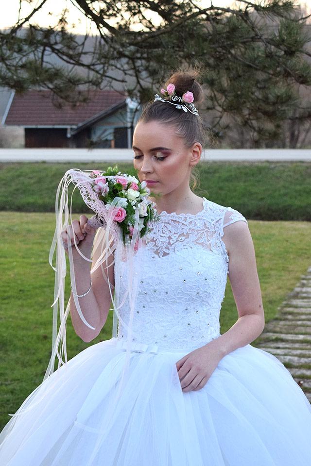 poročni šopek nevesta