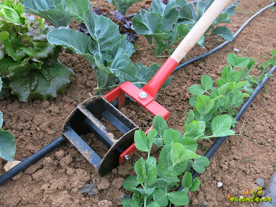 freza za rahla tla na vrtu