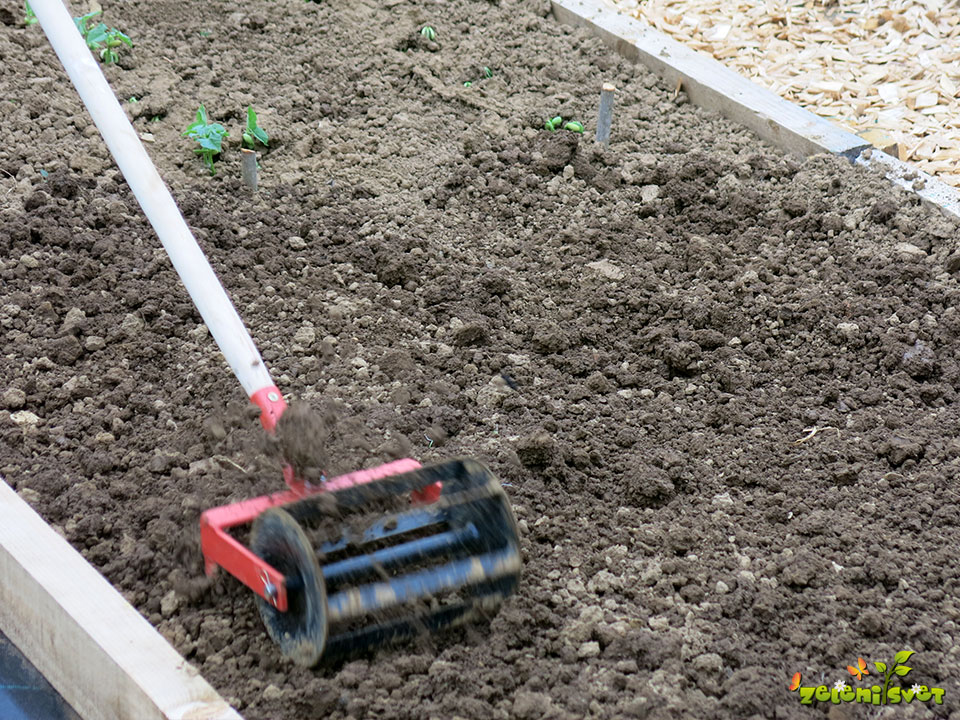 priprava tal velika vrtna freza