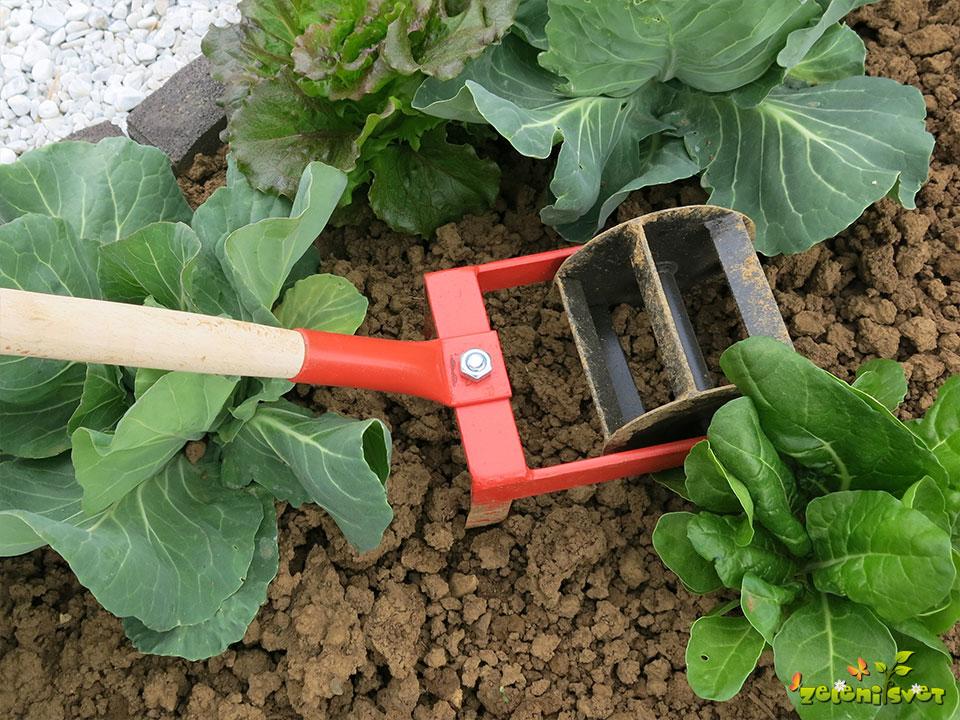 Ročna freza za odstranjevanje plevela in rahljanje tal