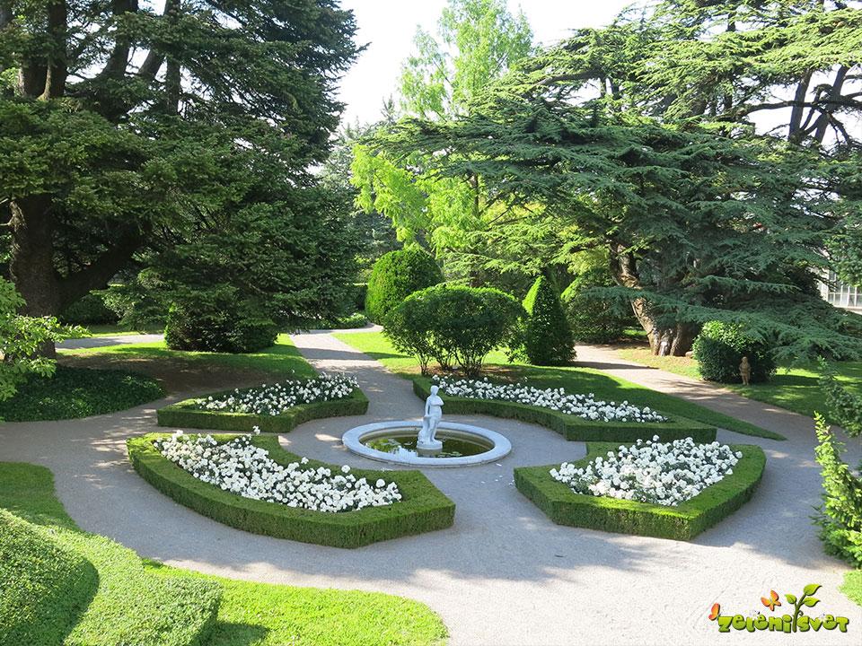 botanični vrt sežana vila mirasso