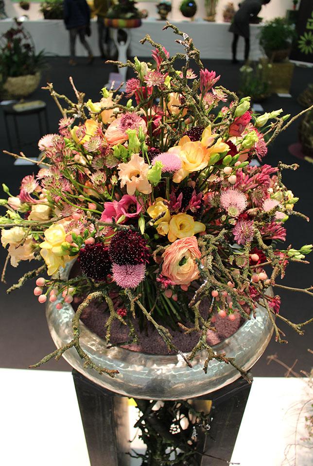 cvetlični šopek