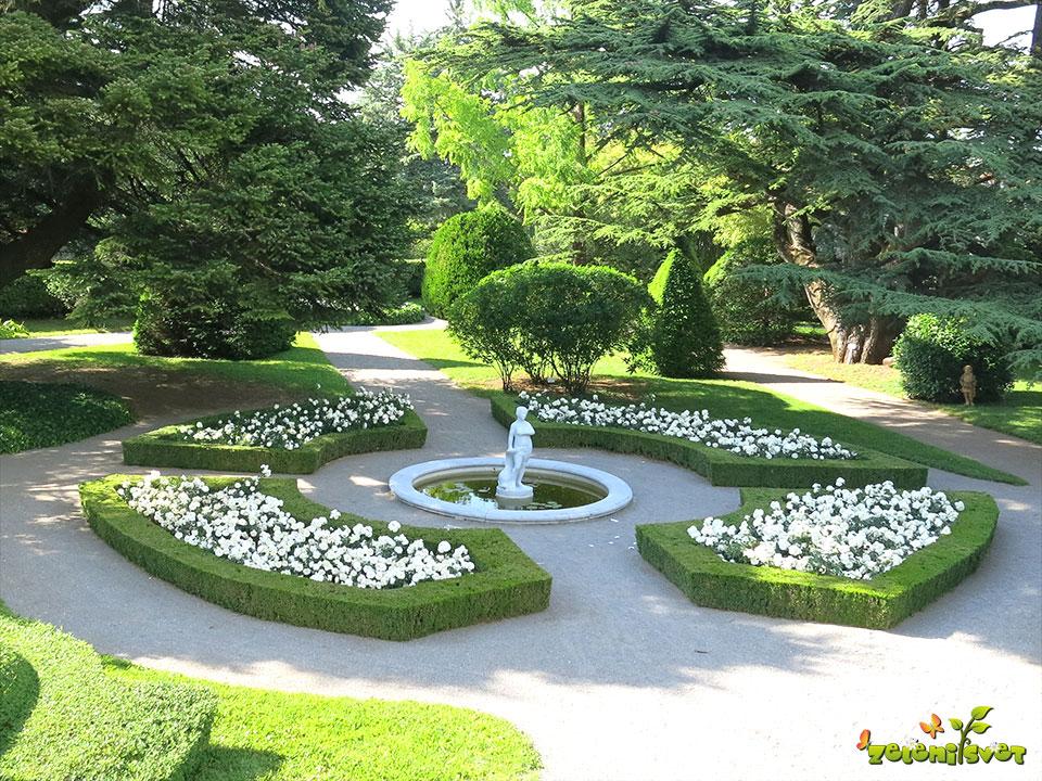 Botanični vrt Sežana ob vili Mirasasso
