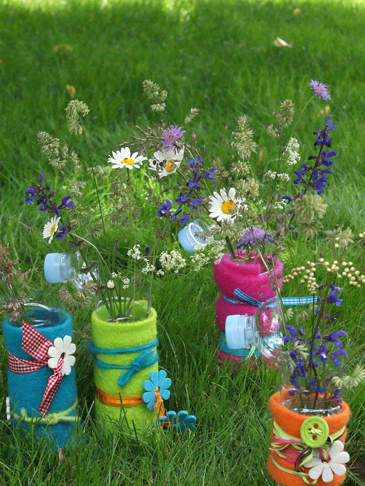 enostavna dekoracija vrt