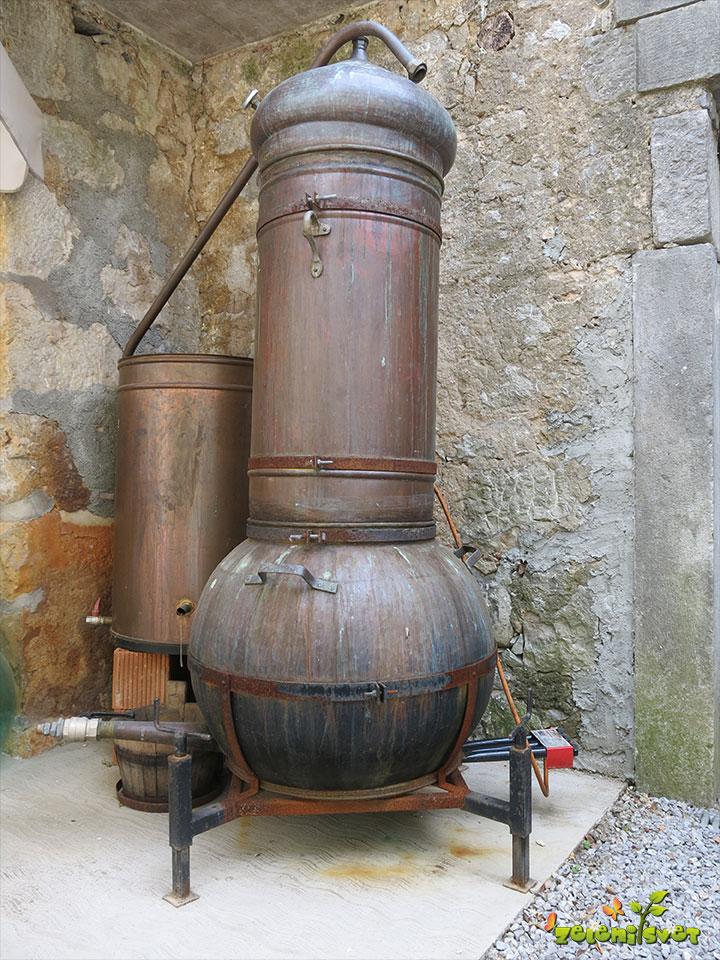 destilacija sivke