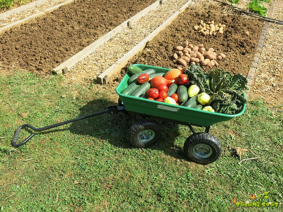 voziček vrt