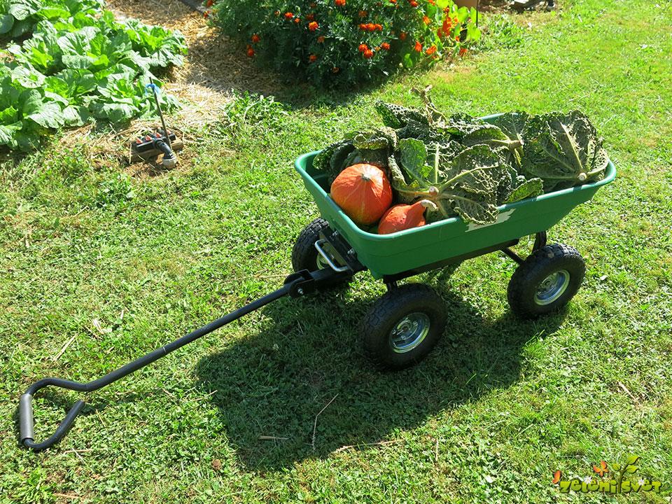 Inovativni vrtni vozički za lažji prevoz