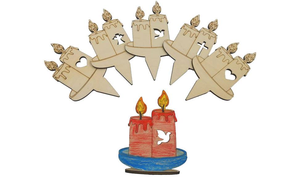Eko dobrodelne sveče so rešitev za čistejše okolje in pomoč otrokom
