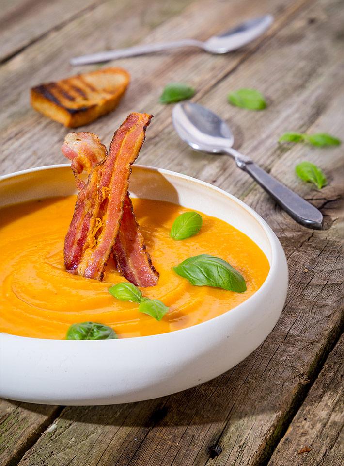 kremna juha, sladki krompir