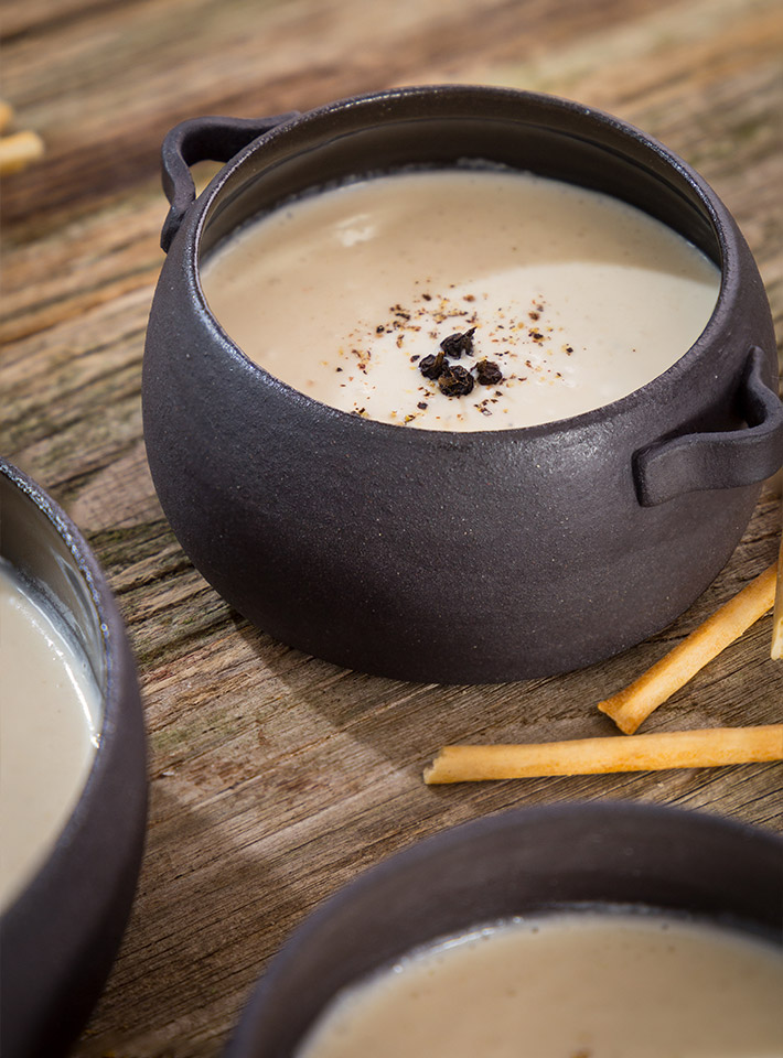 kremna juha črna redkev