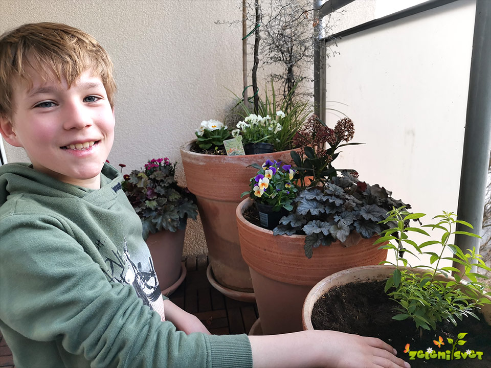 vrtnarjenje otrok
