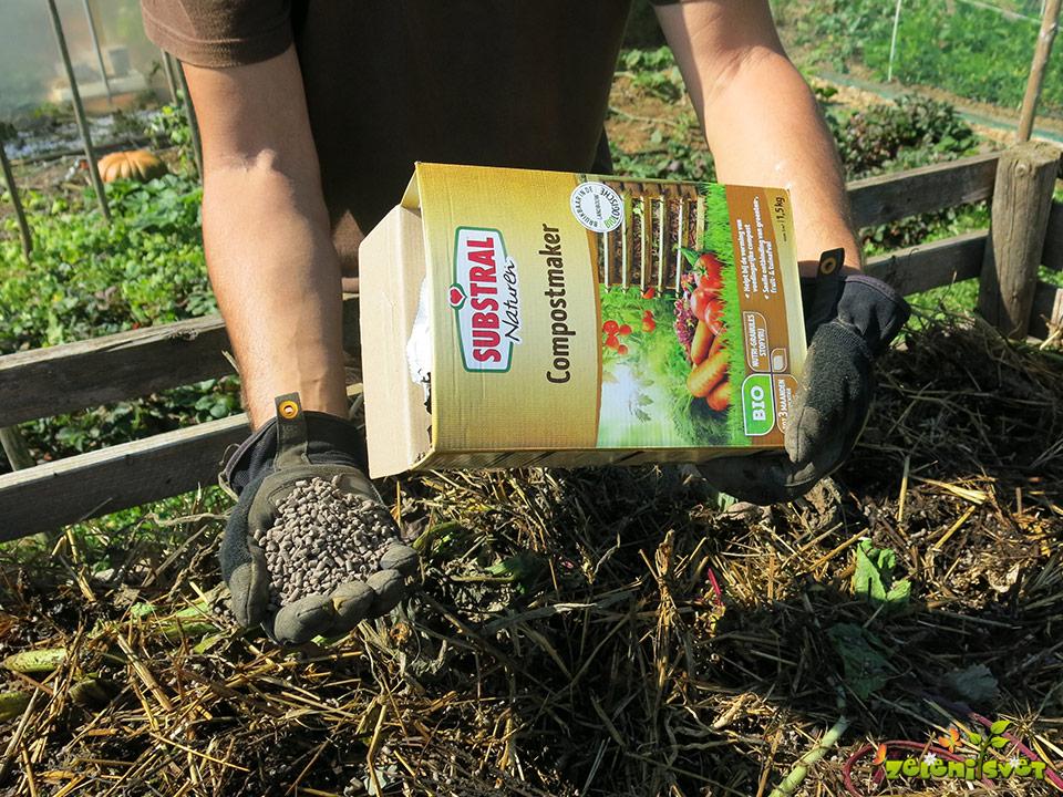 kompost aktivator, aktivator komposta
